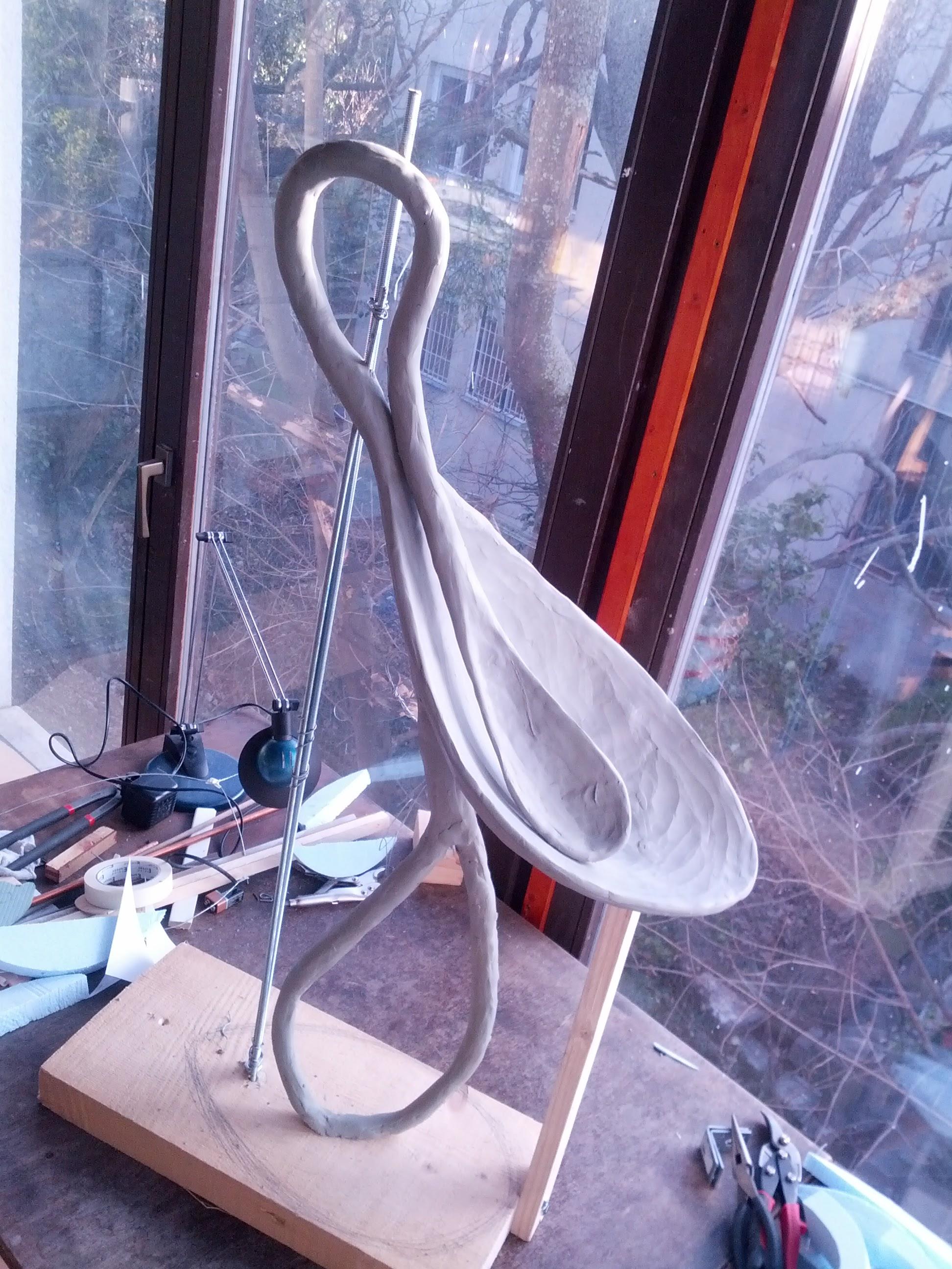 Spoonbill model